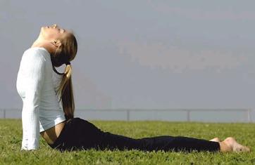 Maria Sharapova yoga